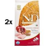 Porovnat ceny N&D Low Grain DOG Adult Chicken & Pomegranate 2 x 12 kg
