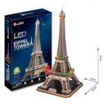 Porovnat ceny HM Studio 3D Eiffelova věž / led - 82 dílků
