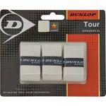 Porovnat ceny Tenisová omotávka Dunlop Bio Tour Overgrip, 3 ks - bílá