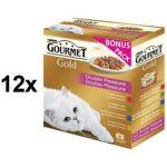 Porovnat ceny Gourmet Gold směs dušených a grilovaných kousků Multipack 12 x (8 x 85g)