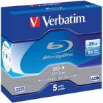 Porovnat ceny Verbatim BD-R 25GB, 6x, jewel, 5ks (43753)