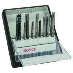 Porovnat ceny Sada Bosch 10dílná kazeta pilových plátků na dřevo/kov