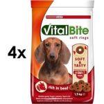 Porovnat ceny Vitalbite poloměkké hovězí 4 x 1,5kg