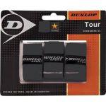 Porovnat ceny Tenisová omotávka Dunlop Bio Tour Overgrip, 3 ks - černá