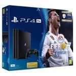 Porovnat ceny Sony PlayStation 4 PRO 1TB + FIFA18 + PS Plus 14 dní (PS719914365) čierna