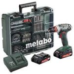 Porovnat ceny Metabo BS18Quick MD 2x2,0Ah zelená