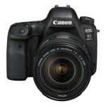 Porovnání ceny Canon EOS 6D Mark II + EF24-105 IS STM + dárek Canon objektiv a blesk černý