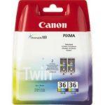 Porovnání ceny Canon CLI-36C, 109 stran - originální (1511B018) červená/modrá/žlutá