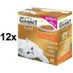 Porovnat ceny Gourmet Gold kousky se zeleninou ve šťávě Exotic Multipack 12 x (8 x 85g)