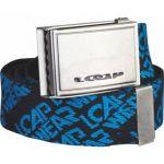 Porovnat ceny Pásek sportovní Loap Rosello 125 cm - černá/modrá