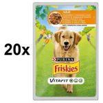 Porovnat ceny FRISKIES Adult s kuřetem a mrkví ve šťávě 20 x 100g