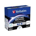 Porovnat ceny Verbatim BD-R M-Disc 25GB, 4x, printable, jewel box, 5ks (43823)