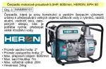Porovnání ceny Čerpadlo motorové proudové 5,5HP, 600l/min, HERON, EPH 50