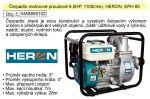 Porovnání ceny Čerpadlo motorové proudové 6,5HP, 1100l/min, HERON, EPH 80