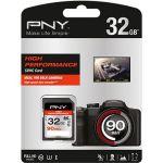 Porovnat ceny PNY SDHC High Performance 32GB Class 10 UHS-1 U3 (SD32GHIGPER90-EF)