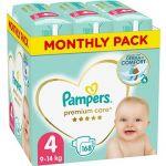 Porovnat ceny PAMPERS Premium Care veľ. 4 Maxi (168 ks) - mesačné balenie (8001090379511)