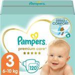 Porovnat ceny PAMPERS Premium Care vel´ 3 Midi (120 ks) - mesačná zásoba (4015400465461)