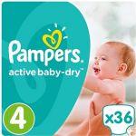 Porovnat ceny PAMPERS Active Baby-Dry veľ. 4 MAXI (36 ks) (4015400537458)