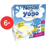 Porovnat ceny Nestlé BABY Yogo Banán - 6x (4x100g) (12229956)