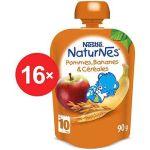 Porovnat ceny Nestlé NATURNES Banán, jablko, cereálie - 16x 90g (12301317)