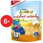 Porovnat ceny Nestlé JUNIOR Maslové sušienky 6x 180g (12178886)