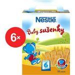 Porovnat ceny Nestlé Baby sušienky - 6x 180g (12128760)