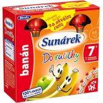 Porovnat ceny Sunar Sunárek Do ručičky banán - 4 x 90 g (8592084411541) + ZDARMA Dětský příkrm Sunárek Do ručičky jahoda 90 g