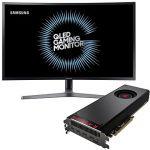 Porovnat ceny AMD RADEON VEGA BLACK PACK + herní monitor Samsung 32 (Vega 64 Air with Samsung 32) + ZDARMA Hra pro PC Prey a Wolfenstein II: The New Colossus