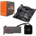 Porovnat ceny AMD RADEON VEGA AQUA PACK + AMD Ryzen 7 1700X + Asus X370 (Vega 64 Liquid with 1700X+Asus) + ZDARMA Hra pro PC Prey a Wolfenstein II: The New Colossus