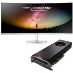 Porovnat ceny AMD RADEON VEGA BLACK PACK + herní monitor Samsung 34 (Vega 64 Air with Samsung 34) + ZDARMA Hra pro PC Prey a Wolfenstein II: The New Colossus