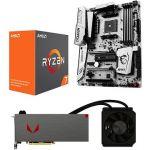 Porovnat ceny AMD RADEON VEGA AQUA PACK + AMD Ryzen 7 1700X + MSI X370 (Vega 64 Liquid with 1700X+MSI) + ZDARMA Hra pro PC Prey a Wolfenstein II: The New Colossus