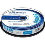 Porovnat ceny MediaRange BD-R (HTL) 25GB Injet Printable, 10ks CakeBox (MR500)