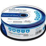 Porovnat ceny MediaRange BD-R (HTL) 50 GB Dual Layer Inkjet Printable, 25 ks CakeBox (MR510)