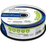 Porovnat ceny MediaRange DVD-R Inkjet Fullsurface Printable 25ks CakeBox (MR407)
