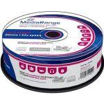 Porovnat ceny MediaRange CD-R Inkjet Fullsurface Printable 25ks CakeBox (MR202)