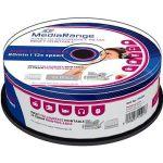 Porovnat ceny MediaRange CD-R Audio Inkjet Fullsurface Printable 25ks CakeBox (MR224)