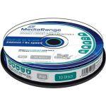 Porovnat ceny MediaRange DVD + R Dual Layer Printable 10ks CakeBox (MR468)