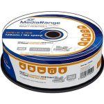 Porovnat ceny MediaRange DVD+R Inkjet Fullsurface Printable 25ks CakeBox (MR408)