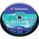 Porovnat ceny Verbatim DVD-RW 4x, 10ks CakeBox (43552)