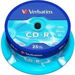 Porovnat ceny Verbatim CD-R DataLife Protection 52x, 25 ks cakebox (43432)