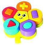 Porovnat ceny Playgro - Skladacie puzzle kvetina s tvarmi (9321104854612)