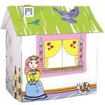 Porovnat ceny Bino Kartónový domček pre princeznú (4019359440029)