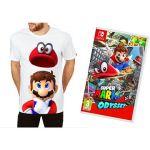 Porovnat ceny Super Mario Odyssey + Originál Tričko - Nintendo Switch (NSS670) + ZDARMA Tričko Super Mario Odyssey - originál tričko
