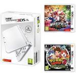 Porovnat ceny Nintendo NEW 3DS XL Pearl White + Mario Sports Superstars + YO-KAI WATCH 2: Bony Spirits (NI3H97133)