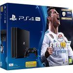 Porovnat ceny Sony PlayStation 4 Pro 1TB + FIFA 18 (PS719914365) + ZDARMA Figurka - dárek k předobjednávce - Cristiano Ronaldo