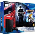 Porovnat ceny Sony Playstation 4 - 1 TB Slim + 3 hry (Uncharted 4, Driveclub, Ratchet and Clank) (PS719805465)