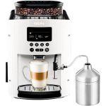 Porovnat ceny Krups Pisa White + XS6000 Autocappuccino EA816170 + ZDARMA Kávová darčeková sada Illy