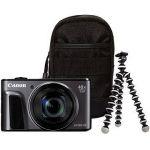 Porovnat ceny Canon PowerShot SX720 HS čierny Travel Kit (1070C018)