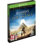 Porovnat ceny ubisoft Assassins Creed Origins Deluxe Edition + Mikina - Xbox One (USX300290) + ZDARMA Herní doplněk k předobjednávce získej zdarma misi Tajemství prvních pyramid