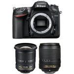 Porovnat ceny Nikon D7200 čierny + 18 – 140 mm VR AF-S DX + 10 – 24 mm F3,5 – 4,5G AF-S DX